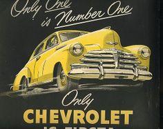 chevrolet 1948 advertisement