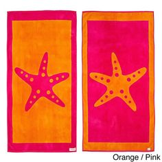 Shop for Starfish Reversible Oversized Beach Towel. Get free delivery On EVERYTHING* Overstock - Your Online Bath Linens Store!