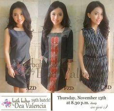 tenun kombinasi Blouse Batik, Batik Dress, Batik Kebaya, Batik Fashion, Thai Dress, Crochet Jacket, Work Attire, Ikat, Fashion Dresses