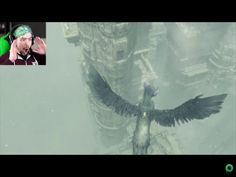 "septicdragonalchemist: ""I took a screenshot from the episode of the last guardian today and Jack's face when trico started flying is priceless :) "" This really captures the WTF haha"