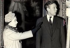 The Queen with Anthony Blunt in 1959