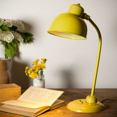 Newark LED Desk Lamp in Yellow