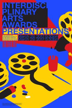 New work on Behance! Illustrations and posters for the Interdisciplinary Arts Awards Presentations at the Yale Digital Media Center for the Arts. Check it out and throw it a 👍 if you're feeling it.  ::::::::::::::::::::::::::::::  #design #graphicdesign #typography #poster #print