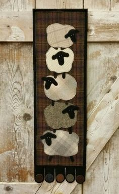 Counting On Ewe ~ 10″ X 33″ ~ by The Woolen Needle.