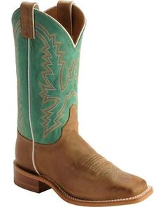 Justin Bent Rail Burnished Calf Cowgirl Boots - Square Toe, Tan, hi-res Cute Cowgirl Boots, Womens Cowgirl Boots, Cute Boots, Western Shoes, Western Outfits, Western Tack, Country Outfits, Western Style, Western Wear
