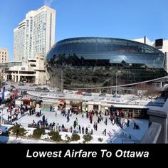 #Cheap_flight_ticket to #Ottawa, so hurry for booking.