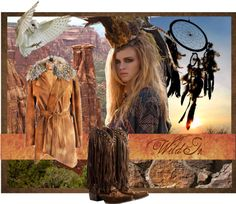 """Call of the Wild - Wild Things Fall 2012"" by doubledranch on Polyvore"