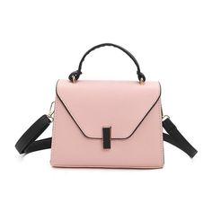 8b5954caaa Women s Hasp Cover Flap Handbag Crossbody Shoulder Bag