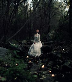 by Katherine_Thomas, via Flickr, forest maiden, fantasy, medieval