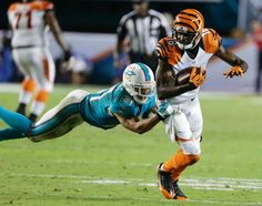 Making defenders miss every week...A.J. Green is flat out mean...
