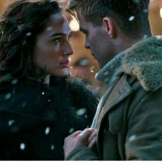 Steve Trevor and Diana Prince, Wonder Woman