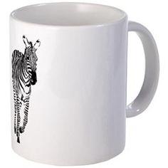 Zebra Running Mugs > Zebra > DODGERFL PRODUCTIONS