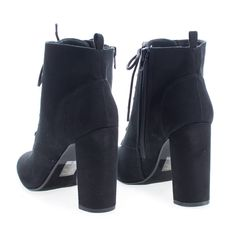 Dress up any outfit with these lace up high heel ankle boots 0918b71f78d