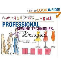 Professional Sewing Techniques for Designers [Hardcover], (sewing techniques, fashion design, sewing, tailoring, couture, fashion, designers, tailor, patterns, interior designers)