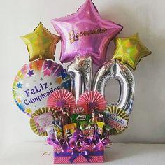 Balloon Basket, Balloon Box, Balloon Gift, Office Birthday, Birthday Diy, Balloon Crafts, Balloon Decorations, Bee Drawing, Surprise Box