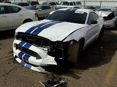 2016 Ford Shelby GT350 Mustang Wreck