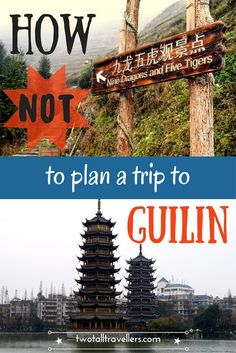 Don't make the same mistakes we did when planning your trip to Guilin!