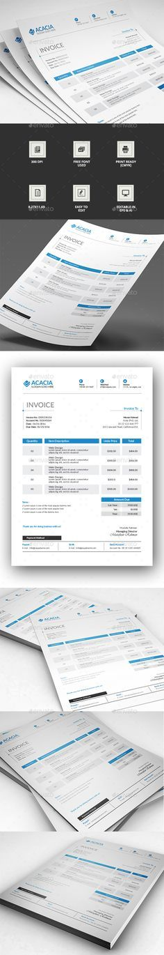 invoice excel | a well, invoice template and adobe, Invoice examples