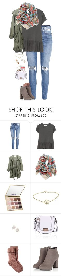 """""""Untitled #650"""" by martin-elle ❤ liked on Polyvore featuring H&M, The Great, tarte, Alison & Ivy, Kendra Scott, Fat Face and Kate Spade"""