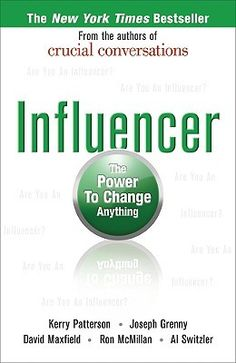Influencer: The Power to Change Anything - The reviews on #goodreads were really helpful in developing my expectations for this book. I'm glad I read them first. It is a quick read, with great ideas and information regarding the science of organizational management, but rather bland in presentation.