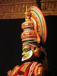 India theatre kathakali God zoom