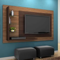 Living Room Tv Unit Designs, Bedroom Cupboard Designs, Bedroom Closet Design, Support Mural Tv, Support Tv, Tv Unit Decor, Tv Wall Decor, Tv Wall Design, Ceiling Design