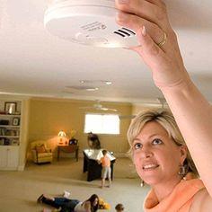 Carbon Monoxide And Smoke Detector CO Smoke Alarm Home Battery Powered XMas Gift #Kidde