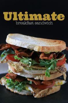 Ultimate Breakfast Sandwich by Nutmeg Nanny