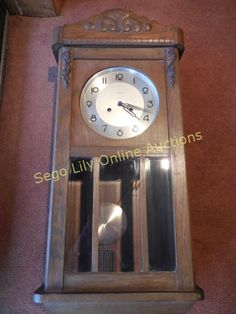 Lot # : 221 - Vintage German Kienzle Wall Clock with Chimes