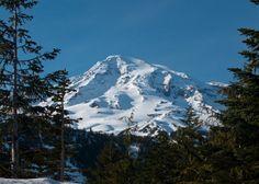 Mount Rainier, Washington.  I am climbing to the summit in June.