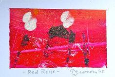 Red Reise, 2015, tecnica mista, 9.5 x 6 cm