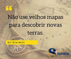Não use velhos mapas para descobrir novas terras  #PNL #empreendedor #positivo #mentetreinada #mente  #coach #coaching #SEXTA-FEIRA #FELICIDADE