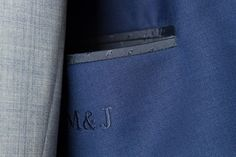 Navy Blue Wedding Suit — De Oost Bespoke Tailoring