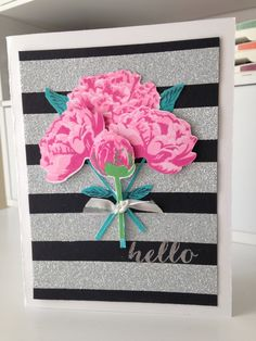 Think Pink - The Ton peony stamps
