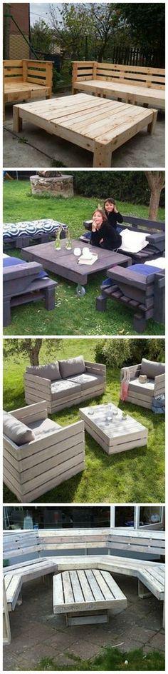 Complete Pallet Garden Set