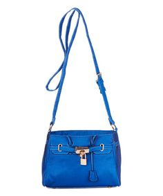 Another great find on #zulily! Cobalt Blue Brooke Crossbody Bag #zulilyfinds
