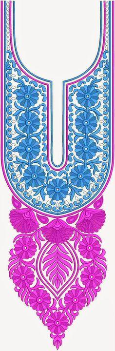 Vivah Indian Clothing Long Neck Designs - Embdesigntube