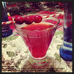 #12 is the classic Pinnacle® Cosmopolitan. 1 part Pinnacle® Kiwi Strawberry Vodka 1 part DeKuyper® Triple Sec Liqueur 1 part Cranberry Juice Shake with ice and strain into a chilled martini glass. Garnish with cranberries.