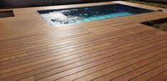Plage de piscine. Seine et marne Pose Parquet, Deck, Outdoor Decor, Home Decor, Home, Decoration Home, Room Decor, Front Porches, Home Interior Design