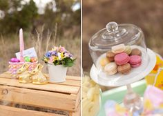 Rustic Easter Guest Dessert Feature | Amy Atlas Events