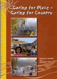 Caring for place, caring for country. Free download. This teaching resource is about contemporary Aboriginal culture, heritage and connection with the land. Included in the teaching kit are 2 story books; Gami's Place and The river is big; a tape of the songs Old Man Windrayne and Gami's Place; and A pictorial study guide of NSW.