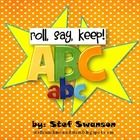 {FREEBIE!!} A fun game focusing on identifying capital and lowercase letters! This game can be used in small group or added to a student center!