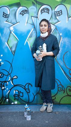 Interview with street artist Shamsia Hassani