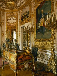 Study of Ludwig II at Herrenchiemsee Palace,