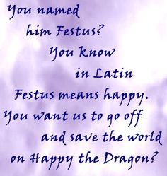 TLH - Festus the Dragon by bookworm16016.deviantart.com on @deviantART