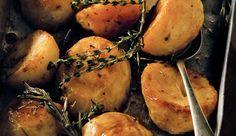 Spicy roast potatoes #recipe.