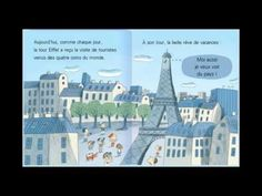 la tour eiffel a des ailes - YouTube French Songs, French Movies, Tour Eiffel, Worksheets For Kids, Activities For Kids, Foto Paris, French Class, Teaching French, Kindergarten Classroom
