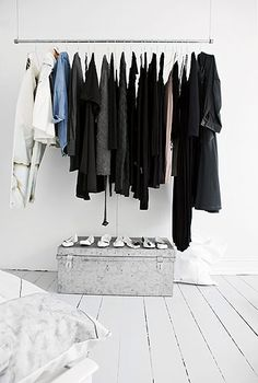 Oh, hello. Apparently my new obsession is attractive and exposed closets. Neat!