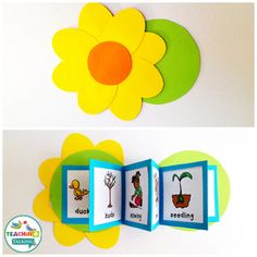 This adorable Spring Vocabulary Activities pack includes 5 interactive speech therapy activities that will help you reinforce theme based vocabulary for PreK & Kindergarten students. Vocabulary Activities, Speech Therapy Activities, Hands On Activities, Kindergarten Activities, Preschool Activities, Kindergarten Vocabulary, Daycare Curriculum, K Crafts, Kids Learning