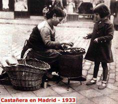 Castañera. Madrid 1933